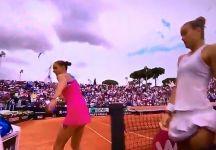 Karolina Pliskova furibonda dopo la sconfitta con la Sakkari (Video)