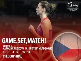Pliskova e Mladenovic metteno a segno il record di durata in Fed Cup