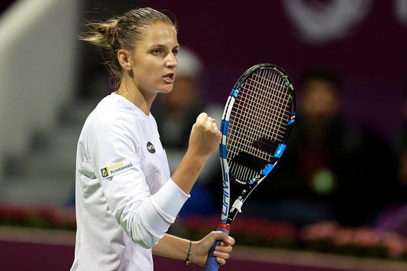 Karolina Pliskova nella foto