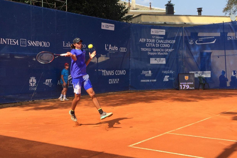 """Alexei Popyrin, vincitore del """"Bonfiglio"""" e del Roland Garros Junior."""
