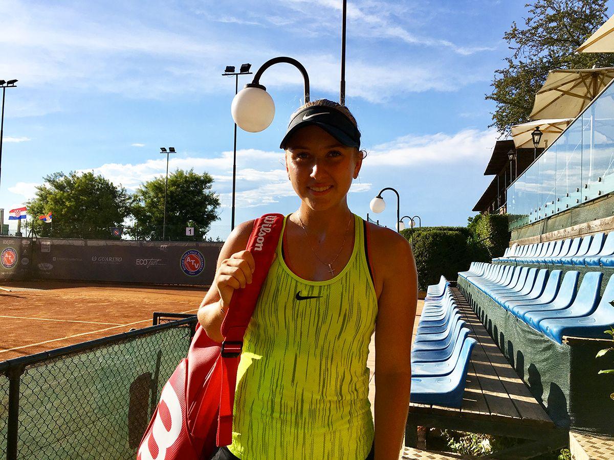 Anastasia Potapova (foto Sportface)