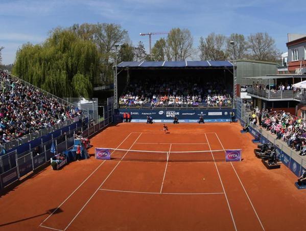 Ad agosto ci sarà anche il torneo WTA di Praga (su terra e con presenza di pubblico)