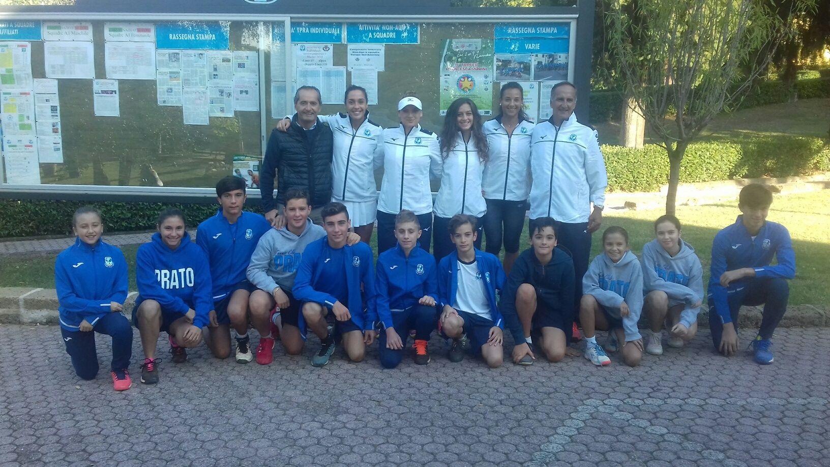 La squadra del Tc Prato