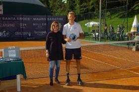 Jacopo Berrettini finalista al torneo di Santa Croce