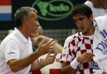Dopo 5 anni Goran Prpic si dimette da Capitano di Coppa Davis e dopo 11 da quello di Fed Cup