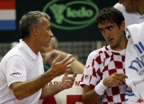 Goran Prpic dopo 5 anni lascia la panchina di Coppa Davis della Croazia