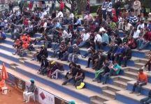 Divertente episodio avvenuto a Quito durante l'incontro tra Lapentti e Gomez