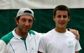 Massimo Puci in passato ha anche allenato Andrey Golubev portandolo nei top 40
