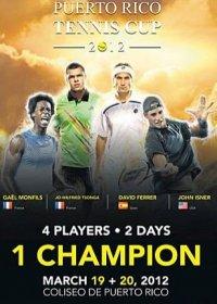 I quattro tennisti impegnati a Puerto Rico