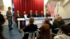 Da Andria: La conferenza stampa del torneo challenger pugliese