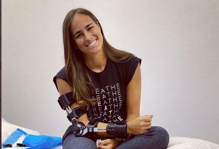 Monica Puig nella foto