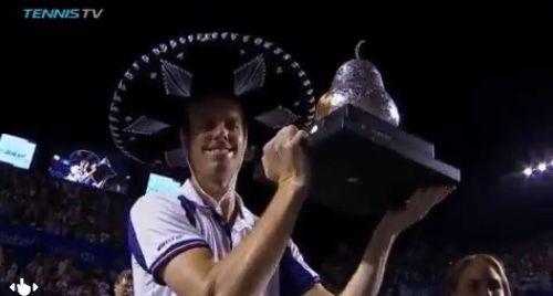 Sam Querrey vincitora a sorpresa nel torneo di Acapulco