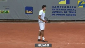 Gianluigi Quinzi classe 1996, n.3 del ranking Under 18