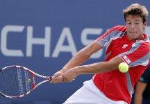 Us Open Juniores: Tre partite in un giorno mettono ko Gianluigi Quinzi