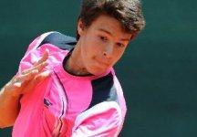 """Mondo Junior: Ranking Under 18. Gianluigi Quinzi al n.2 del mondo. Quinzi dichiara """"Sto lavorando molto con il coach Medica, perchè il tennis oggi è sacrificio. Devo ringraziare anche la FIT che è stata determinante nella mia crescita"""""""