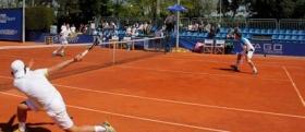 Gianluigi Quinzi e Filippo Baldi fuori ai quarti di finale nel torneo di doppio del Roma Rai