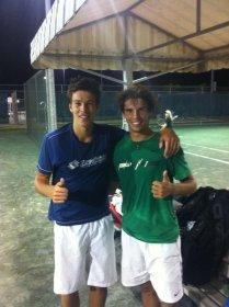 Gianluigi Quinzi e Filippo Baldi a Miami  - Un Grazie ad Oscar Rabago
