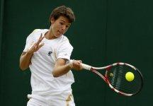"""Wimbledon Juniores: Gianluigi Quinzi """"Sto molto bene fisicamente, sento la palla, sto giocando molto bene sia di diritto che di rovescio"""""""