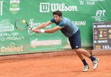 Challenger Roma: I risultati dei Quarti di Finale. Gianluigi Quinzi in semifinale. Simone Bolelli si ritira per problemi intestinali (Video)