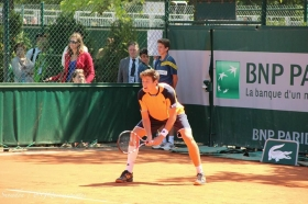 Gianluigi Quinzi classe 1996, n.7 del ranking Under 18 - Foto Marie Pichon