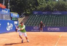 Challenger Tampere: Gianluigi Quinzi un po' troppo falloso perde contro Jarkko Nieminen. Segnali di ripresa per l'azzurro (Video)