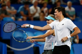 Raonic e Bouchard alle Nba All-Star Celebrity Game