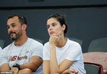 """La ragazza di Raonic risponde al commento di Fognini sul sovrappeso di Milos: """"Hai preso solo 6-1 6-0"""""""