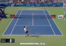 Milos Raonic e la 12 esima battuta più veloce della Storia. Record per il torneo di Washington