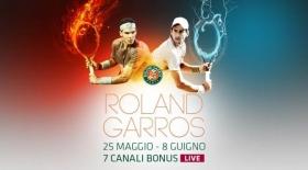 Su <strong>Eurosport</strong>, dal 25 maggio all'8 giugno, ritorna protagonista il grande tennis, con la trasmissione in diretta da <strong>Parigi del Roland Garros</strong>