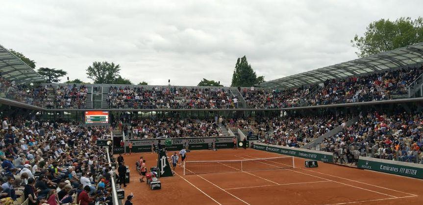 Il campo del Roland Garros
