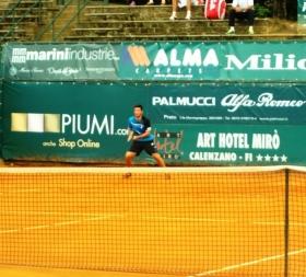 Giovanni Rizzuti classe 1995, senza ranking ATP