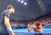 Video del Giorno: Il gesto ironico di Tommy Robredo dopo aver perso il match contro Andy Murray a Valencia