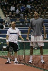 Il gigante ed il piccolo: Ivo Karlovic e Olivier Rochus