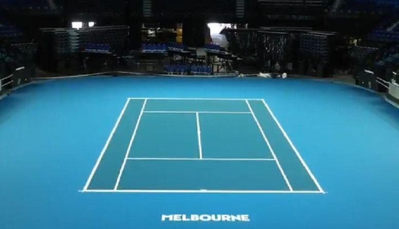 La Rod Laver Arena è pronta per gli Australian Open (Video)