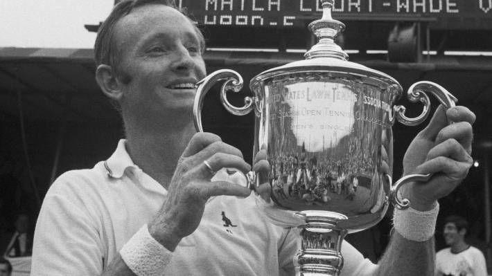 Rod Laver vince US Open 1969, completa il secondo Grande Slam
