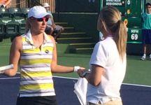 Ad Indian Wells Yulia Putintseva e Anastasia Rodionova battibeccano per tutto l'incontro