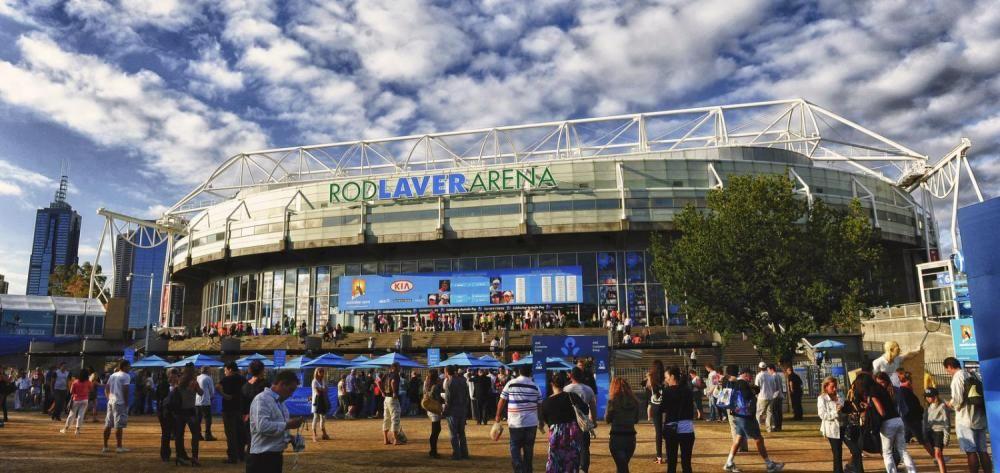 La Rod Laver Arena a Melbourne Park
