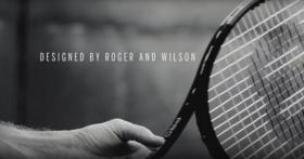 La nuova racchetta di Roger Federer