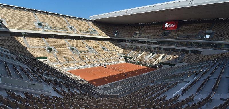 Roland Garros: Un nuovo caso Covid-19. 900 test effettuati da giovedì scorso