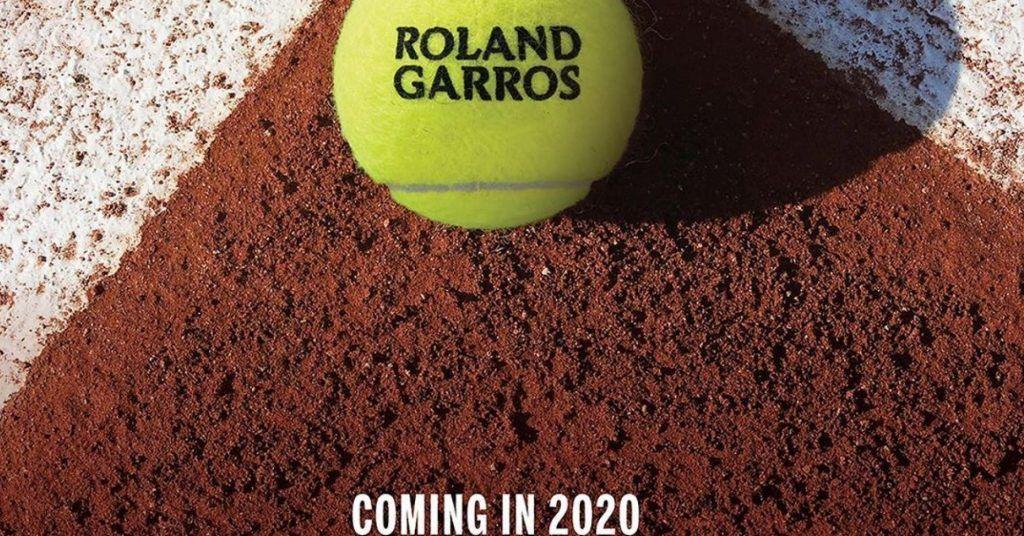 Il Roland Garros partirà lunedi prossimo