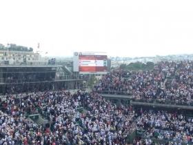 Problemi al Roland Garros