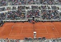 Masters 1000 – Roma: La finale tra Nadal e Djokovic rinviata a domani per colpa della pioggia. La finale si giocherà alle ore 12