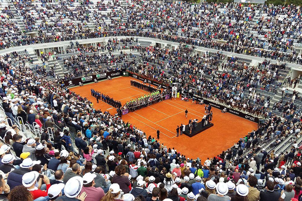 La corsa verso il Foro italico inizia anche dalla Tennis Academy