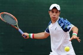 Simone Roncalli, 19enne di Milano, promosso al secondo turno delle qualificazioni
