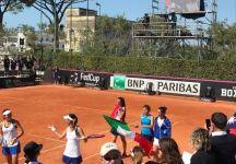 Fed Cup, l'Italia supera Taipei e conquista la salvezza nel World Group II: Errani sugli scudi, ko nel Doppio