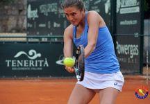 WTA Strasburgo: Risultati live del primo turno. Fuori Camilla Rosatello