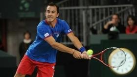 Lukas Rosol vittorioso quest'oggi in Davis Cup