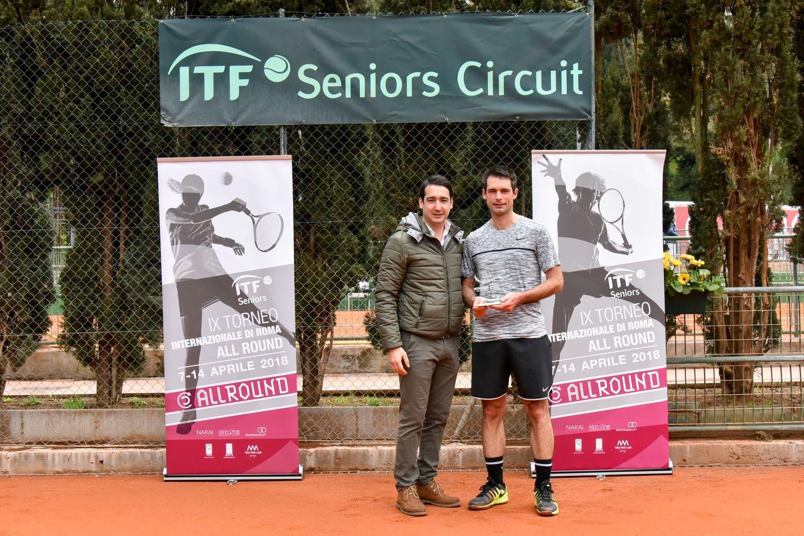 All Round ITF Senior: Trionfo Renault, Catini e Prudente in finale - Foto Roberto Di Tondo