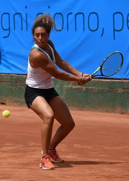 Stefania Rubini, 24 anni di Bologna, è entrata come wild card - Foto GAME