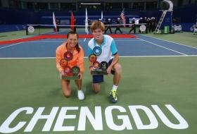 I due vincitori della prima edizione del Masters ITF Junior
